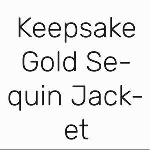KEEPSAKE the Label Tops - Keepsake Sequin Top